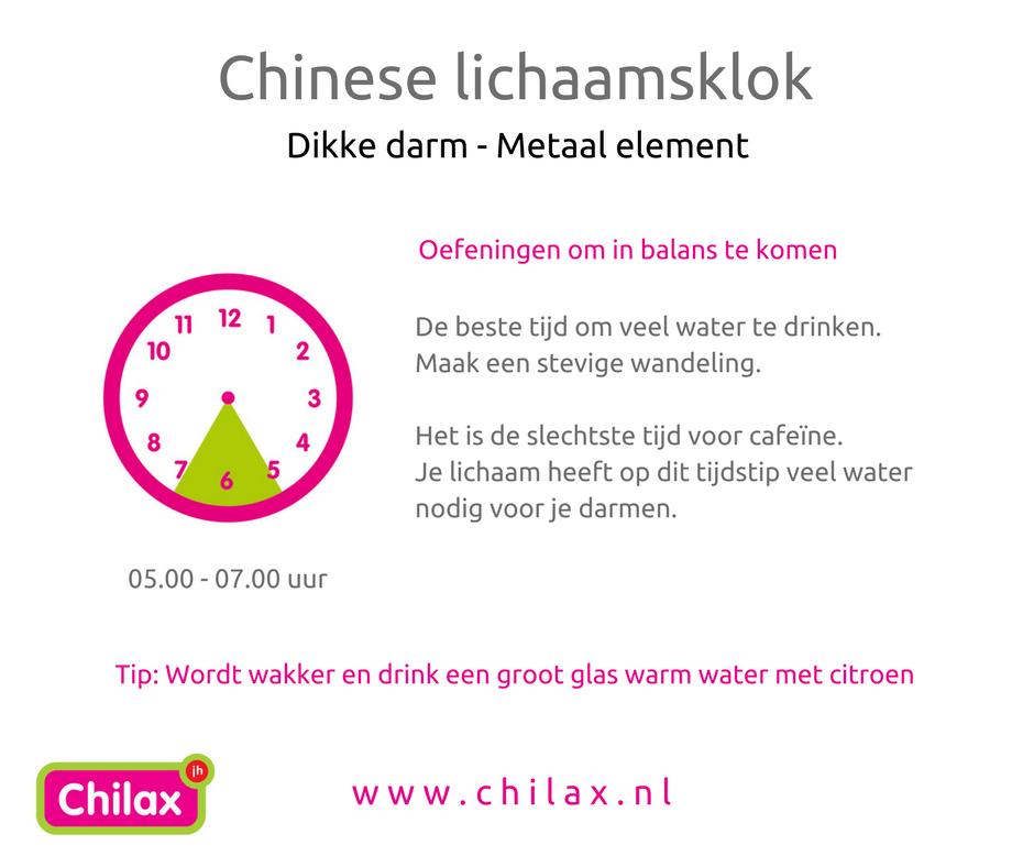 warm water drinken in de ochtend
