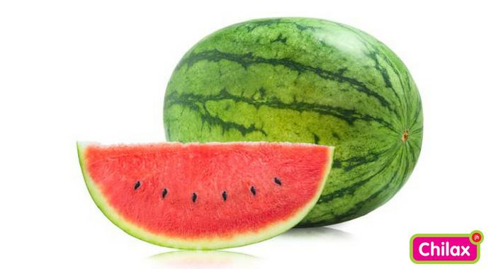 watermeloen brengt helderheid