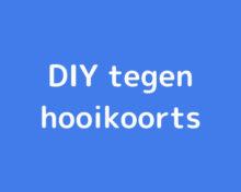 DIY-hooikoorts