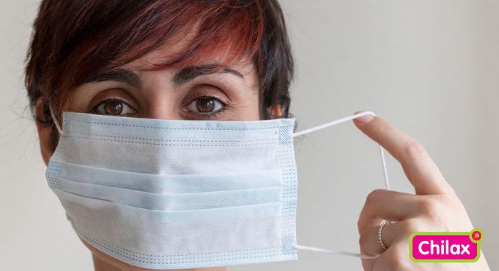 acné door mondmasker